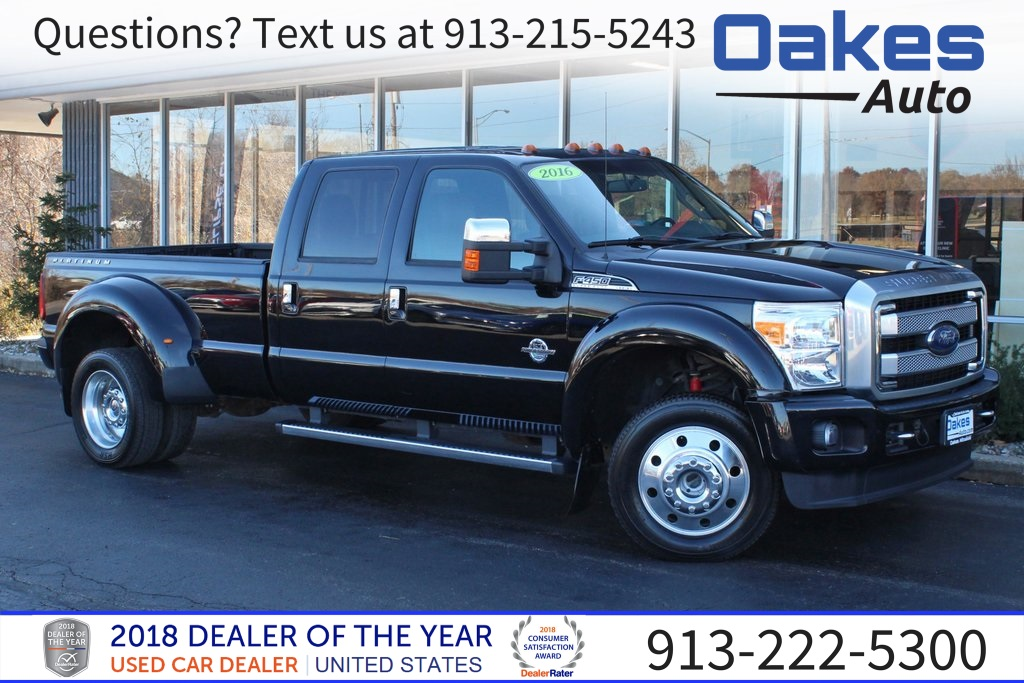 Pre-Owned 2016 Ford F-450SD Platinum