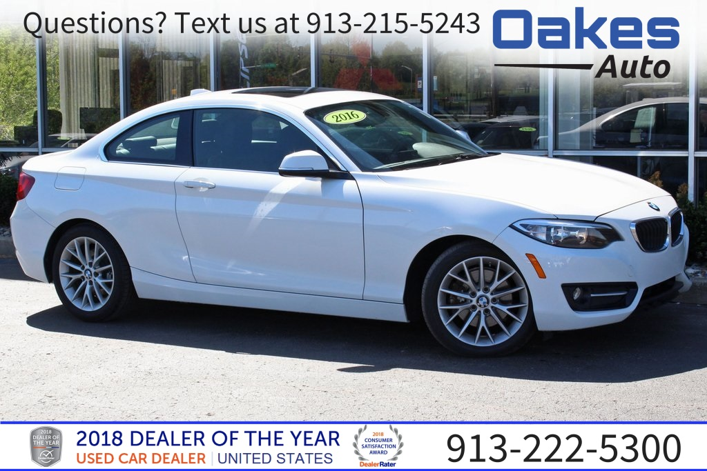 Bmw Pre Owned >> Pre Owned 2016 Bmw 2 Series 228i 2d Coupe In North Kansas City